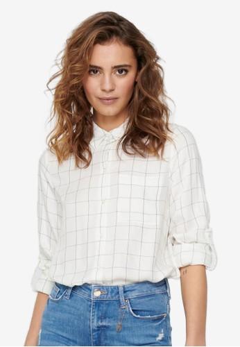 ONLY white Annalie Shirt CC934AA9DAA807GS_1