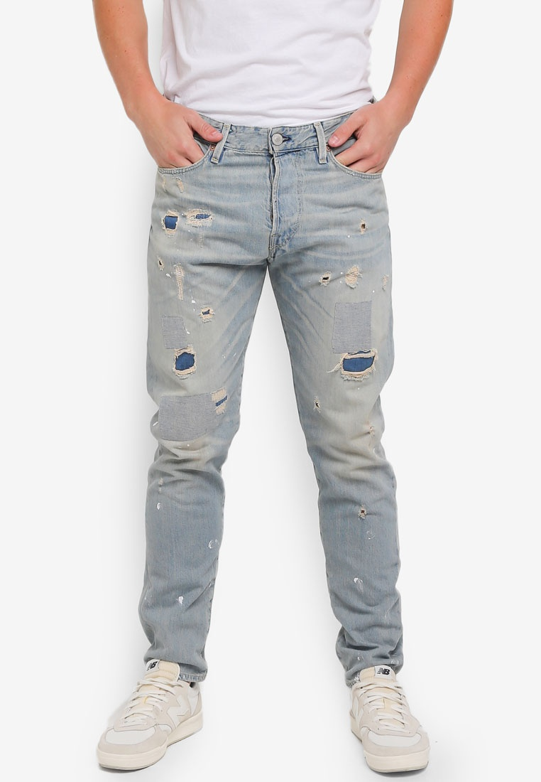 Fred Denim Fit amp; Blue Jack Jeans Icon Jones Anti 8wxEnq84r