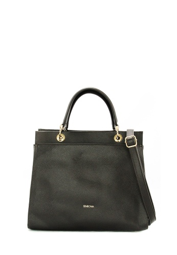 SEMBONIA brown SEMBONIA 2-Way Synthetic Leather Tote Bag (Dark Brown) SE598AC0S84MMY_1