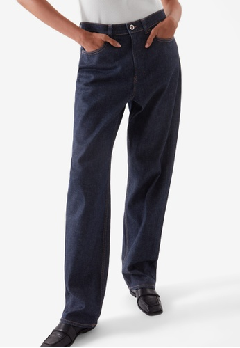 Cos blue Relaxed Straight-Fit Jeans CC776AA981C91AGS_1