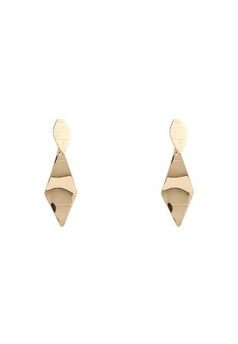 niko and ... gold Geo Drop Earrings BC925AC2AC3B0EGS_1