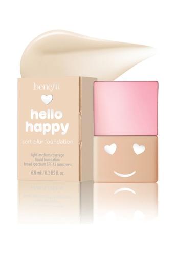 Benefit beige Hello Happy Soft Blur Foundation Mini Shade 02 CE9D3BEE6F2E7FGS_1