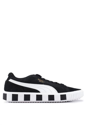 Puma black Sportstyle Prime Breaker Racing Shoes 22221SH5FEDFDEGS_1