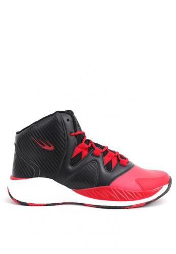 World Balance black Court Advantage Shoes FC588SHAA3B118GS_1