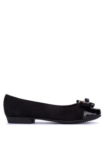 Piccadilly black Comfort Ballet Flats E5DF9SH51E253CGS_1