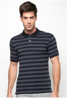 Basic Stripes Polo Shirt
