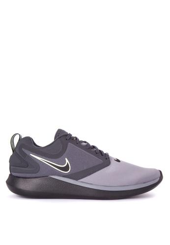 Nike black and grey Men's Nike LunarSolo Running Shoes NI126SH0JWAAPH_1
