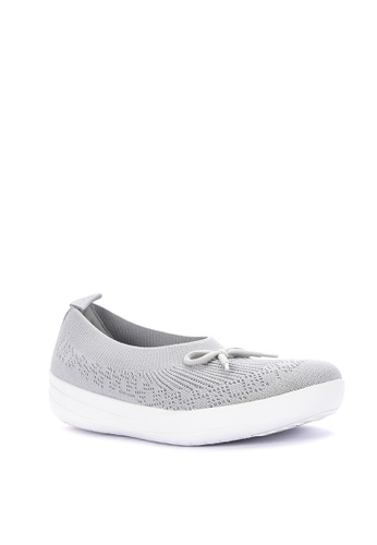 464151dc6a41 Shop Fitflop Uberknit Slip-On Ballerina With Bow Online on ZALORA  Philippines