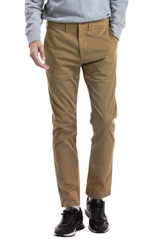Levi's brown Levi's 502™ Chino British Khaki Str Twill WT 32941-0016 F3167AA73FFED4GS_1