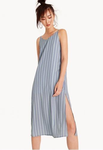 Pomelo grey Glynis Slip Maxi Dress - Gray A13FBAA25D00B6GS_1