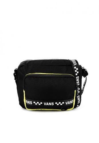 Vans black VIP Too Crossbody Bag FC0FBAC19A6F95GS_1