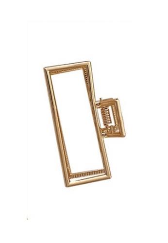 Glamorbit gold Gold Claw Hair Clip 2DC38AC1695B6FGS_1