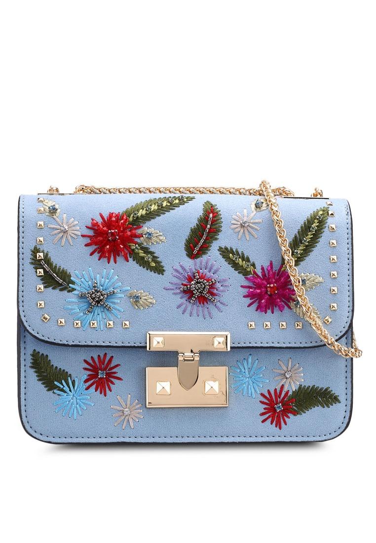 eeedcd9840 Chloe Blue Crossbody Friday Black Bag Floral TOPSHOP q1pqxB4v for ...