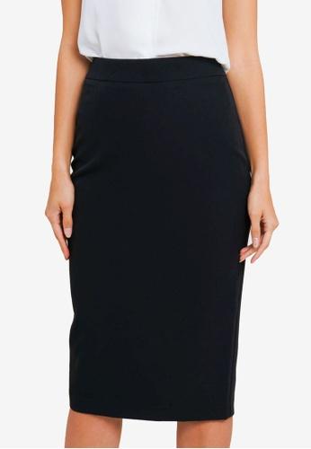 FORCAST black Dianne Midi Skirt 1DAB5AA46B2A82GS_1