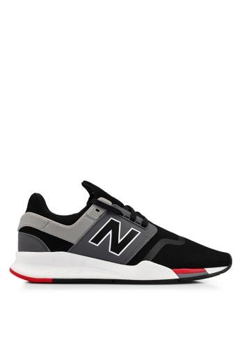 New Balance black 247 V2 Lifestyle Shoes 67D14SH17703BBGS_1