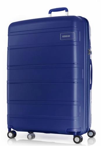 American Tourister blue American Tourister Litevlo Spinner 82/31 Exp Tsa EDCB1AC4592431GS_1