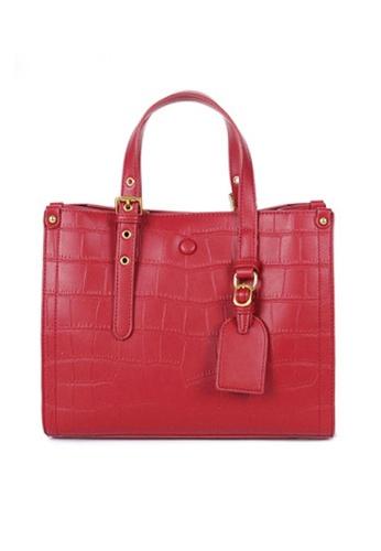 Twenty Eight Shoes red VANSA Fashion Crocodile Leather Tote Bag VBW-Tb2897 E32ECAC226A600GS_1