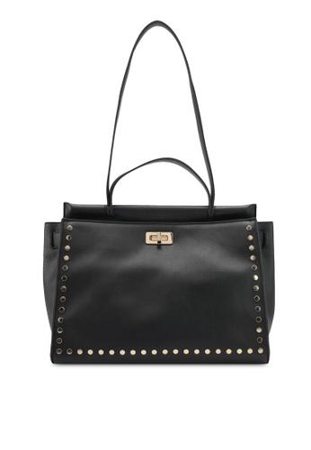 Nose black Studded Tote Bag NO327AC0SJ23MY_1