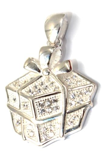 Venice Jewelry silver Arian Present Pendant VE564AC50ZBDPH_1