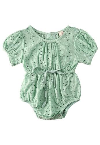 RAISING LITTLE green Renisa Romper 741B9KA0E7347FGS_1