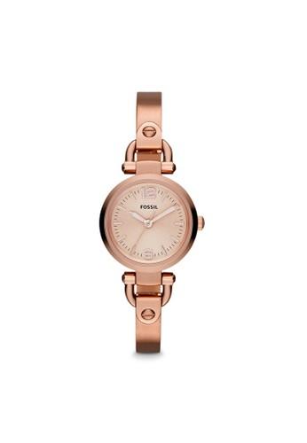 Fossil GEORGIA淑女型女錶 ES3268, 錶類,esprit 品牌 淑女錶