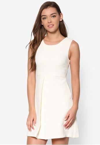 簡約無袖esprit手錶專櫃洋裝, 服飾, 短洋裝