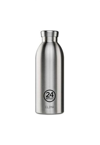 24 Bottles silver 24 Bottles Clima 330ML Insulated Water Bottle - Steel BE3A7ACA49BCDFGS_1