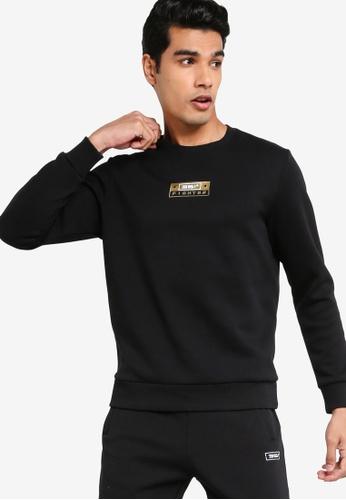 361° black Cross Training Round Sweatshirt A3A0CAA059AFEAGS_1