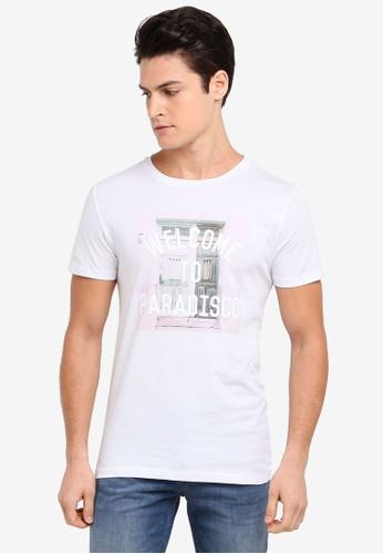 BOSS white Tauno 3 T-Shirt - Boss Casual D996BAAA87D9A8GS_1