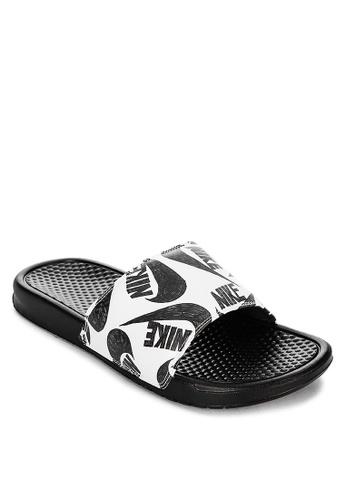 Nike black Benassi JDI Print 53D3BSHAE5A24EGS_1