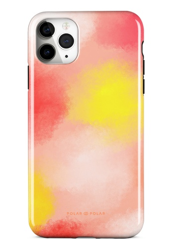 Polar Polar pink Clouds in Fall Dual-layer Tough Case Glossy for iPhone 11 Pro Max 59674ACC985E13GS_1