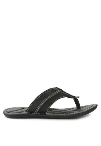 Watchout! Shoes black Sandals Thongs AD7FFSH111D489GS_1