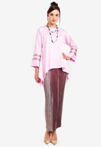 Melayu Manis Kurung from Yans Creation in Pink