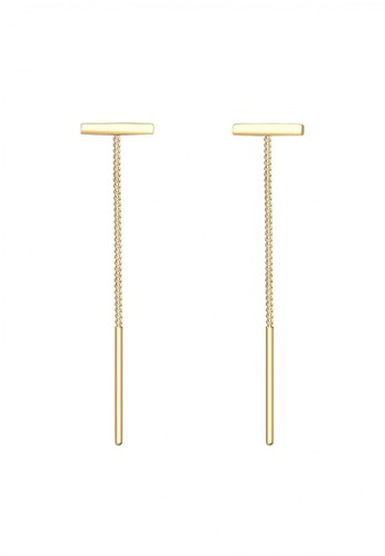 Elli Germany gold 925 Sterling Silver Anting Chain Geo Minimal Basic Lapis Emas Emas 48F04ACC9DF9E0GS_1