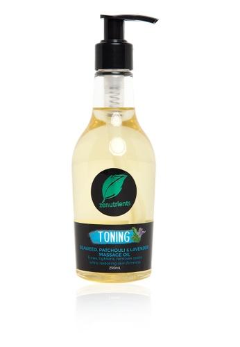 Zenutrients n/a Toning Massage Oil ZE991BE25GQGPH_1