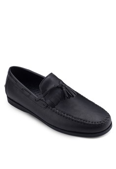 Tassel Loafer In Faux Leather