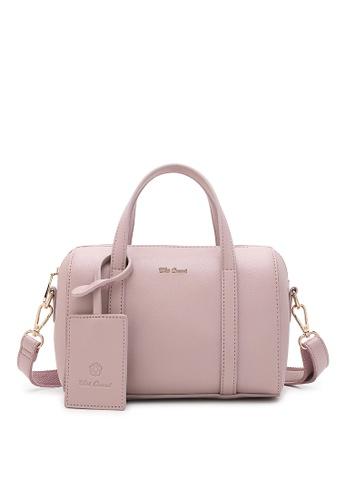 Wild Channel pink Women's Hand Bag / Top Handle Bag 10ADDACF5E225CGS_1