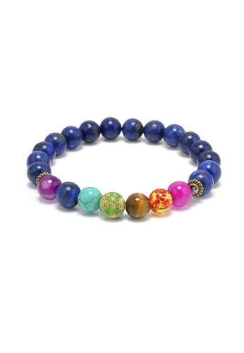 Glamorbit blue Chakra Healing Bracelet B193BAC4A5D667GS_1