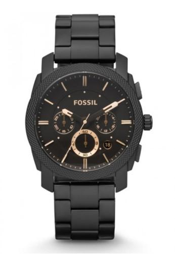 Fossil  MACHINE率性男錶 esprit高雄門市FS4682, 錶類, 時尚型