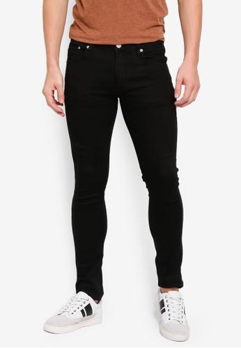 Electro Denim Lab 黑色 Indie-Skinny Jeans B1C08AA0CEC8A7GS_1