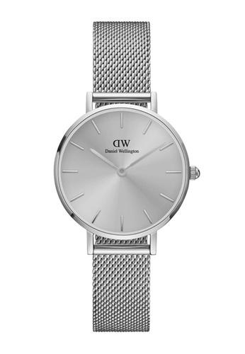 Daniel Wellington silver Petite Unitone 28mm Silver Watch FC153AC1A7144AGS_1