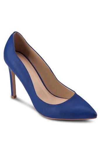 經典仿皮尖頭高跟鞋, 女鞋, zalora是哪裡的牌子鞋