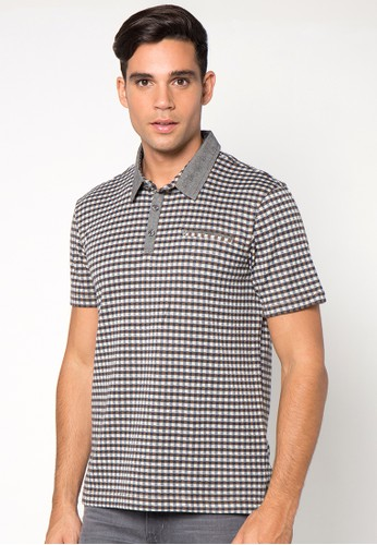Plaid Polo Shirt 013