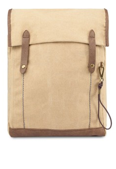 Double-Strapped Canvas Backpack