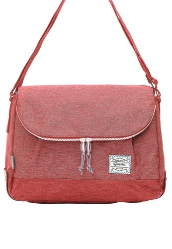 Caterpillar Bags & Travel Gear red Essential Original Round Shape Shoulder Bag CA540AC88ISPHK_1