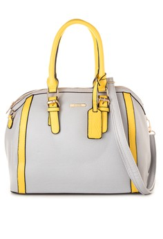 2-Tone Saffiano Doctor's Bag