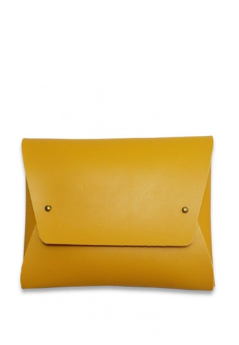 Louiebelle Collection yellow Isabelle Pouch LO122AC0K983PH_1