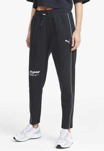 puma black Evide Women's Sweatpants 528FDAA70CE7DCGS_1