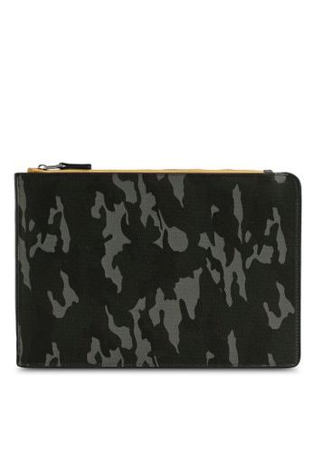 MANGO Man green Camouflage Laptop Case CD842ACAC53310GS_1
