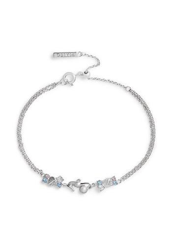 Olivia Burton silver Olivia Burton Under The Sea Silver Women's Bracelet  (OBJSCB05) 18C8EAC2ED2E18GS_1